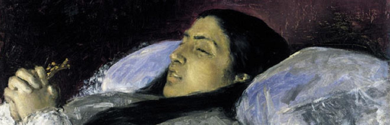 La inesperada muerte de Marià Fortuny en Roma y su pasión por las máscaras mortuorias